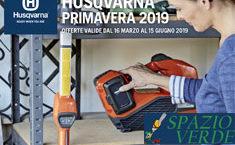 OFFERTE PRIMAVERA HUSQVARNA 2019