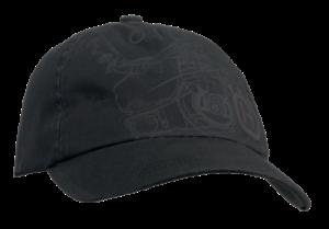 Cappellino nero Xplorer, motosega Pioneer